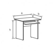 Офисный стол Классик СД080 (SD080)