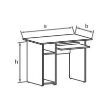 Офисный стол Классик СД100 (SD100)