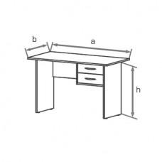 Офисный стол Классик СМЛ (SML)
