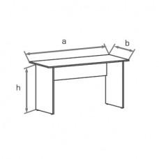 Офисный стол Классик СР (SR)