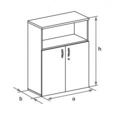 Офисный шкаф для документов Бостон (Boston) DH3-022