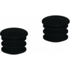 Комплект торцевых заглушек для настенного торгового стеллажа и гардеробной системы