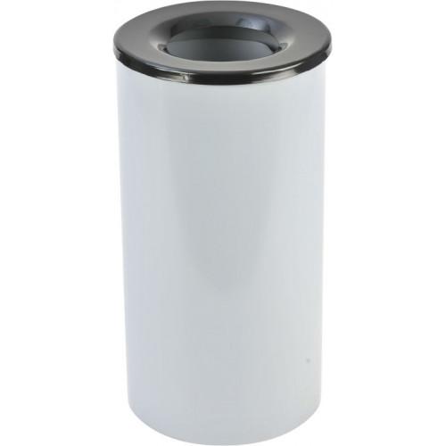 Металлическая урна для мусора Цилиндр