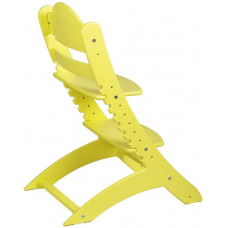 Детский растущий стул Два Кота Желтый