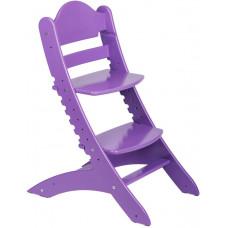 Детский растущий стул Два Кота Фиолетовый