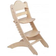 Детский растущий стул Два Кота Белый дуб