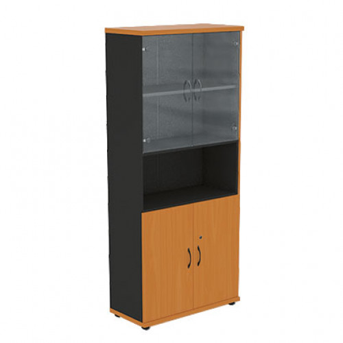 Офисный шкаф для документов Моно-Люкс R5S12