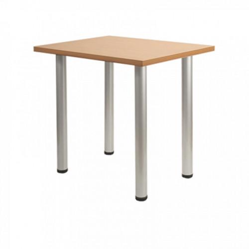Обеденный деревянный стол DT-6 Silver