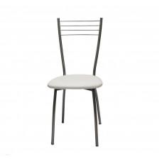 Обеденный металлический стул Сильвия