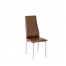Обеденный металлический стул Волна