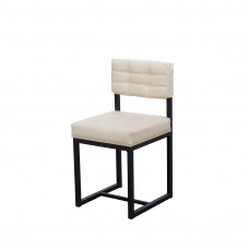 Обеденный металлический стул ЛОФТ-3