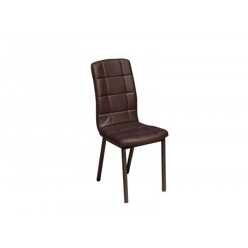 Обеденный металлический стул Квадро