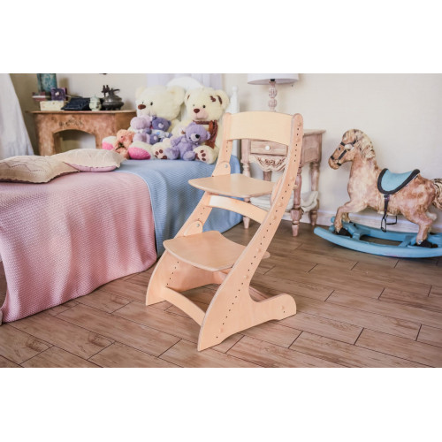 Детский растущий стул Павлин Дерево