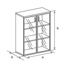 Офисный шкаф для документов Бостон (Boston) DH3-025