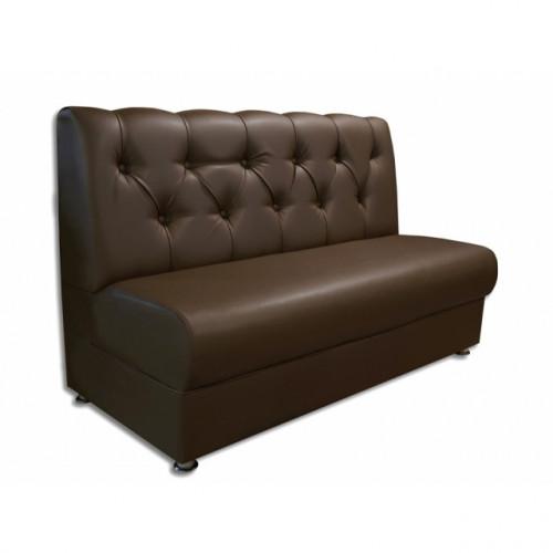 Офисный диван Стандарт с каретной стяжкой