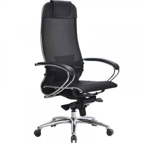 Офисное кресло Samurai (Самурай) S-1 Черный плюс