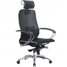 Офисное кресло Samurai (Самурай) S-2 Черный плюс