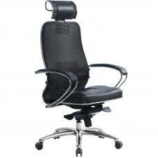 Офисное кресло Samurai (Самурай) SL-2 Черный плюс