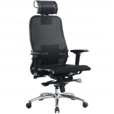 Офисное кресло Samurai (Самурай) S-3 Черный плюс