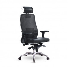 Офисное кресло Samurai (Самурай) SL-3 Черный плюс