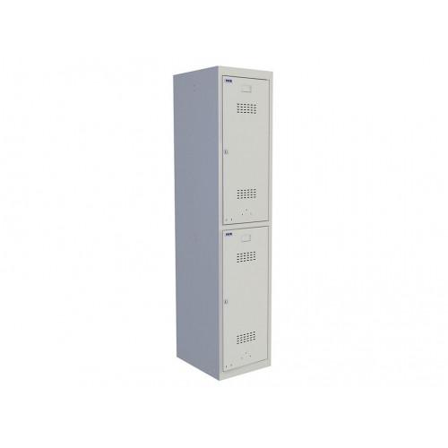 Металлический шкаф для одежды ПРАКТИК УСИЛЕННЫЙ ML 12-40 (БАЗОВЫЙ МОДУЛЬ)