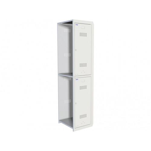 Металлический шкаф для одежды ПРАКТИК УСИЛЕННЫЙ ML 02-40 (ДОПОЛНИТЕЛЬНЫЙ МОДУЛЬ)