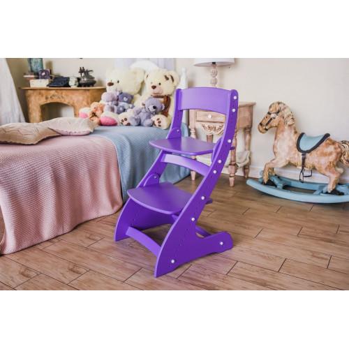 Детский растущий стул Павлин Фиолетовый