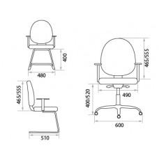 Офисное кресло Метро (Metro)