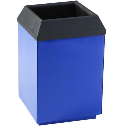 Металлическая урна для мусора Метро