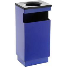 Металлическая урна для мусора Комбинация