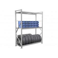 Металлический стеллаж MS PRO 450-3000 (4 полки)