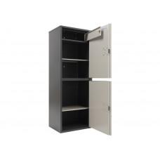 Металлический бухгалтерский шкаф AIKO SL-125/2T