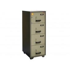 Металлический картотечный шкаф (картотека) VALBERG FC 4K-KK