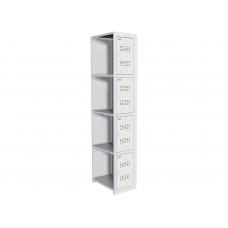 Металлический шкаф для одежды ПРАКТИК УСИЛЕННЫЙ ML 04-30 (ДОПОЛНИТЕЛЬНЫЙ МОДУЛЬ)