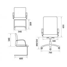 Офисное кресло Зенит Экстра (Zenit Extra)