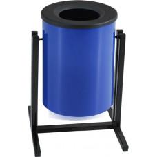 Металлическая урна для мусора Опора