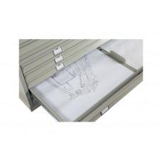 Металлический картотечный шкаф (картотека) ПРАКТИК А0-05/3 (НИЗ)