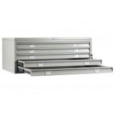 Металлический картотечный шкаф (картотека) ПРАКТИК A1-05/1 (ВЕРХ)