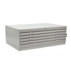 Металлический картотечный шкаф (картотека) ПРАКТИК A0-05/0 (БАЗА)