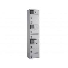 Металлический шкаф кассира ПРАКТИК AMB-140/10