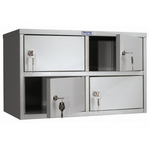 Металлический шкаф кассира ПРАКТИК AMB-30/4