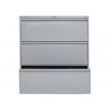 Металлический картотечный шкаф (картотека) ПРАКТИК AMF 1091/3