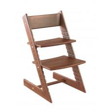 Детский растущий стул Конёк Горбунёк (бук) Темный