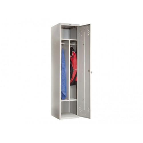 Металлический шкаф для одежды ПРАКТИК СТАНДАРТ LS-11-40D