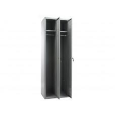 Металлический шкаф для одежды ПРАКТИК СТАНДАРТ LS 21-60
