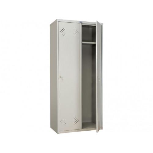 Металлический шкаф для одежды ПРАКТИК СТАНДАРТ LS-21-80