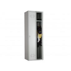 Металлический шкаф для одежды ПРАКТИК СТАНДАРТ LS-21