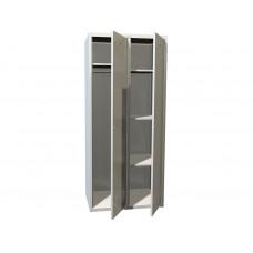 Металлический шкаф для одежды ПРАКТИК СТАНДАРТ LS-21 U