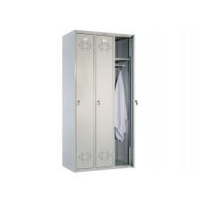 Металлический шкаф для одежды ПРАКТИК СТАНДАРТ LS-31
