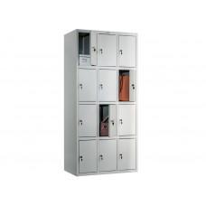Металлический шкаф для сумок (сумочница) ПРАКТИК СТАНДАРТ LS-34